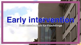 Early Intervention – Businessdeutsch für Flüchtlinge an der vhs Augsburg