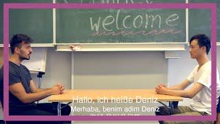 Ein chinesisch türkischer Dialog für Channel Welcome Juli 2015