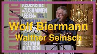 Wolf Biermann, Walther Seinsch und der Marion-Samuel-Preis