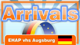 Arrivals – Ein offenes Ohr für EU-Migranten. EHAP an der vhs Augsburg. [Deutsch]
