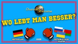 WO LEBT MAN BESSER? Deutschland vs. Postsowjetische Staaten (mit russischen Untertiteln)
