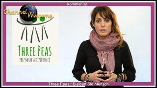 Three Peas/ Bleiben Sie Mensch – Kommentar von Vassia Vlachou-Thein