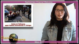 Nachrichten aus Deutschland und der Welt von Aylin Dericioglu – März 2017