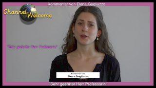 """""""Sehr geehrter  Herr Professorin"""" – Kommentar von Elena Gugliuzzo"""