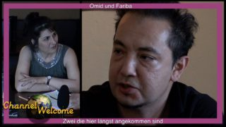 Omid und Fariba- Zwei die hier längst angekommen sind