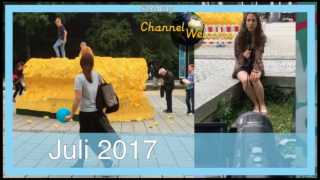 """24. Sendung Channel Welcome. Zu Beginn mit einer Anmerkung zum """"SCHWAMM DES ANSTOSSES"""" in Augsburg"""