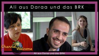 Ali aus Daraa in Syrien und das BRK  in Augsburg/Haunstetten