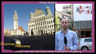 Khaled Alaswad und sein Film über das Grandhotel Cosmopolis in Augsburg