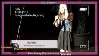 EZGI ZENGIN Eine Poetry-Slammerin aus Augsburg
