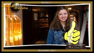 We like it – November 2017 – Unsere Helden in diesem Monat