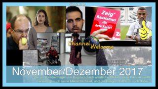 """27. Sendung Channel Welcome (mit einem Vorwort """"So isser, der Schmidt"""")"""