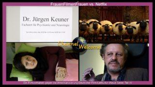 Deutsche Filmleitkultur vs. Netflix. Fake-Partei AfD! Staatsrundfunkreporterin beim Psychiater!