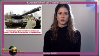 Kurznachrichten aus Deutschland und Europa von Elena Gugliuzzo Januar 2018
