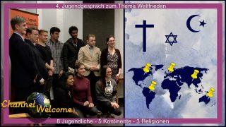 8 Jugendliche 5 Erdteile 3 Religionen diskutieren über den Weltfrieden