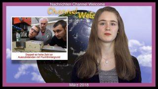 Kurznachrichten aus Deutschland, Europa und der Welt von Natalie Weyda. März 2018