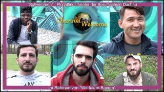 """""""Schwimmen """" Ein Theaterstück mit jugendlichen Geflüchteten in Dachau"""