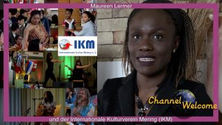 Maureen Lermer und der Internationale Kulturverein Mering IKM