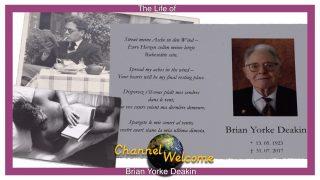 The Life of Brian Yorke Deakin (In German/English Language)