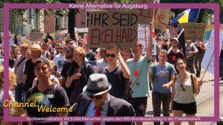Keine Alternative für Augsburg (Großdemonstration gegen den AfD-Parteitag)