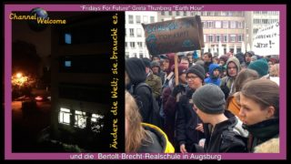 FRIDAYS FOR FUTURE, Greta Thunberg, EARTH HOUR und die Bertolt-Brecht-Realschule in Augsburg
