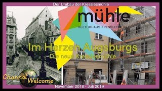Im Herzen Augsburgs – Die neue Kresslesmühle