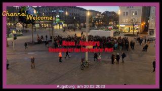 Hanau – Augsburg. Rassismus ist das Übel unserer Welt
