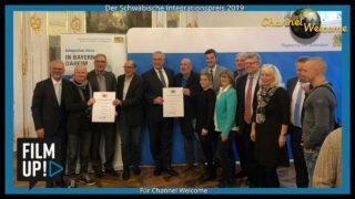 Integrationspreis 2019 der Regierung von Schwaben für Channel Welcome